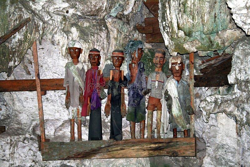 Tombe de grotte de Suaya photographie stock