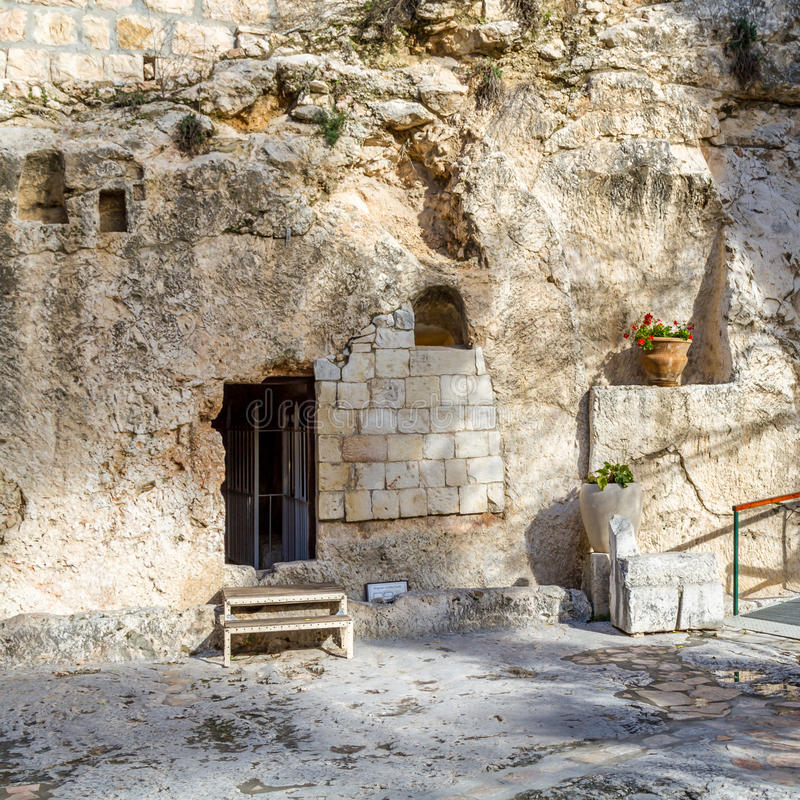 Tombe de jardin, Jérusalem photographie stock