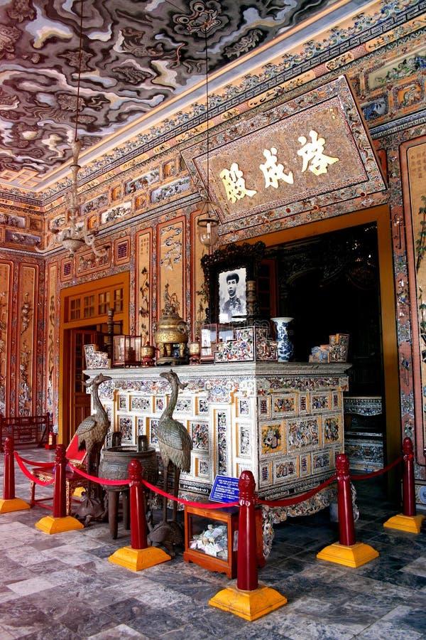 Tombe de Khai Dinh, Hue City image libre de droits