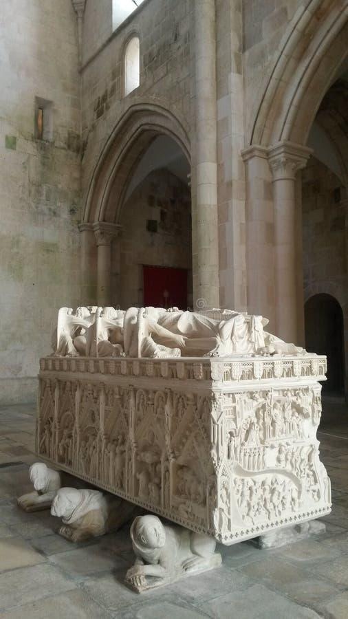 Tombe de la Reine D Ines image libre de droits