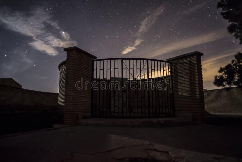 Tombe de masse de guerre civile espagnole à Belchite photos stock
