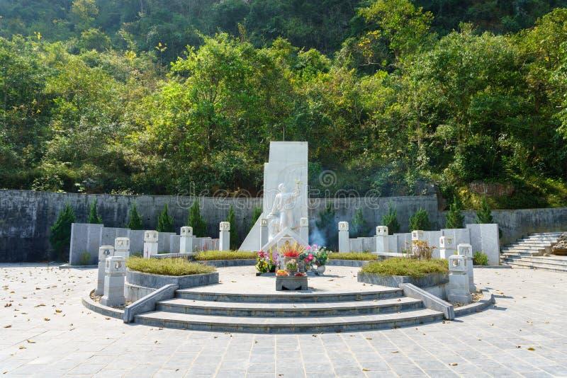 Tombe de Nong Van Den photo libre de droits