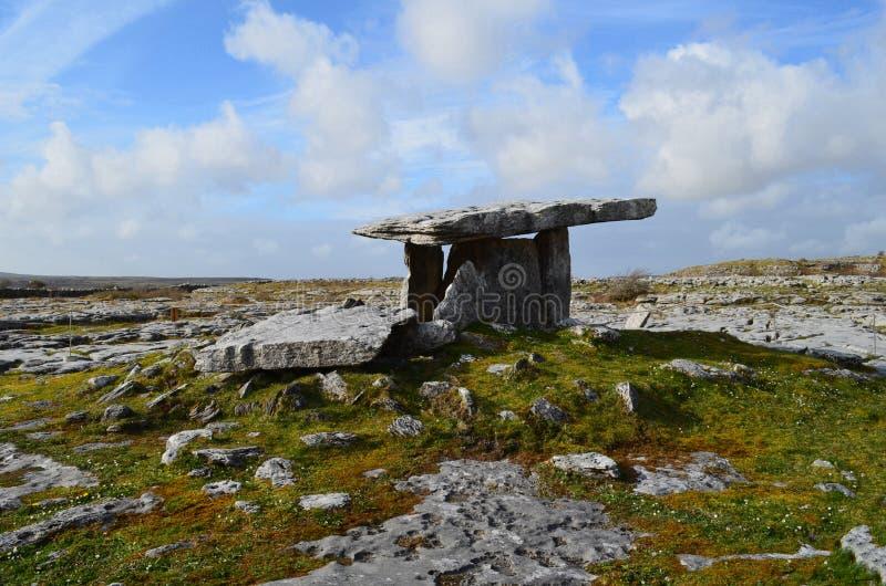 Download Tombe De Poulnabrone Et Le Burren Photo stock - Image du irlande, course: 76082002