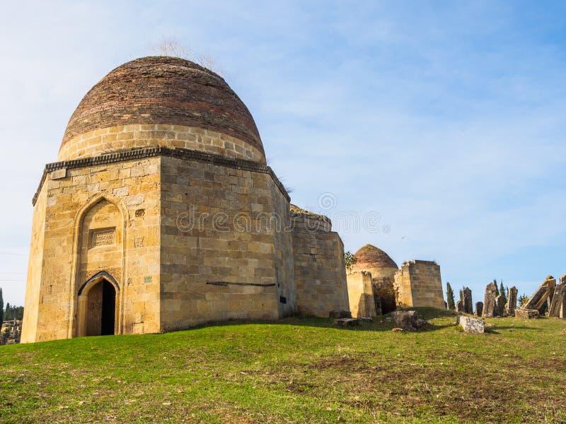 Tombe de Shamakhi de dynastie de Shirvan photographie stock