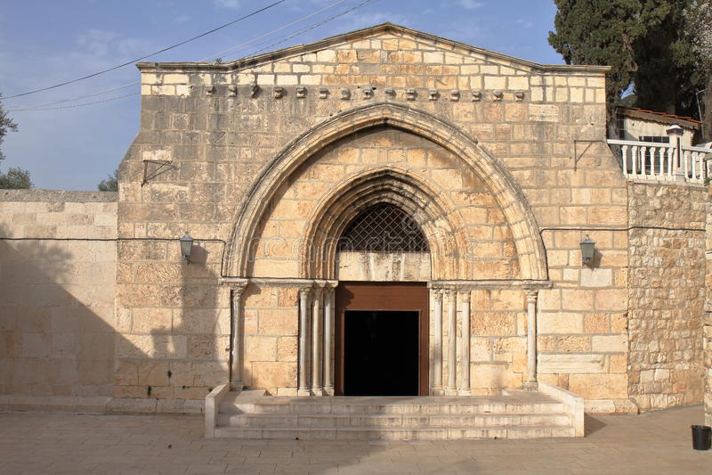 Tombe de Vierge Marie - Jérusalem - Israël photos stock
