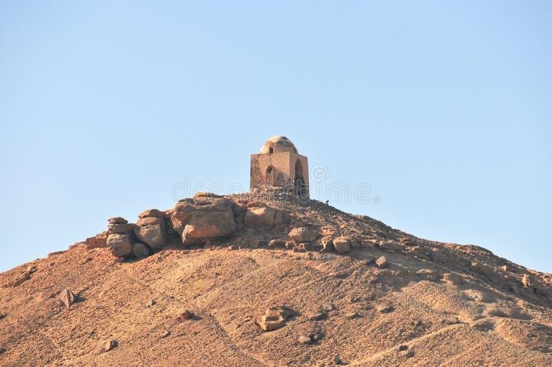 Tombe dei nobili - Assuan, Egitto fotografia stock libera da diritti