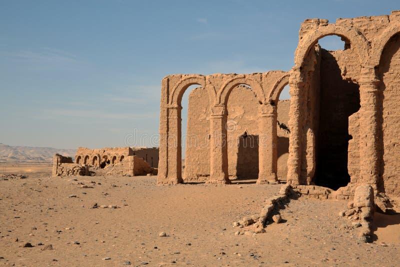 Tombe del EL-Bagawat di Al-Bagawat, Egitto fotografia stock libera da diritti