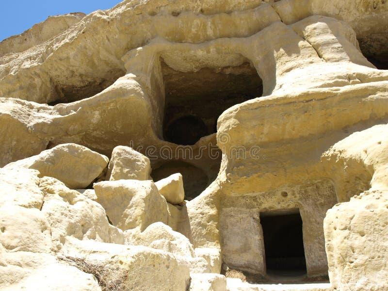 Tombe della caverna fotografia stock libera da diritti