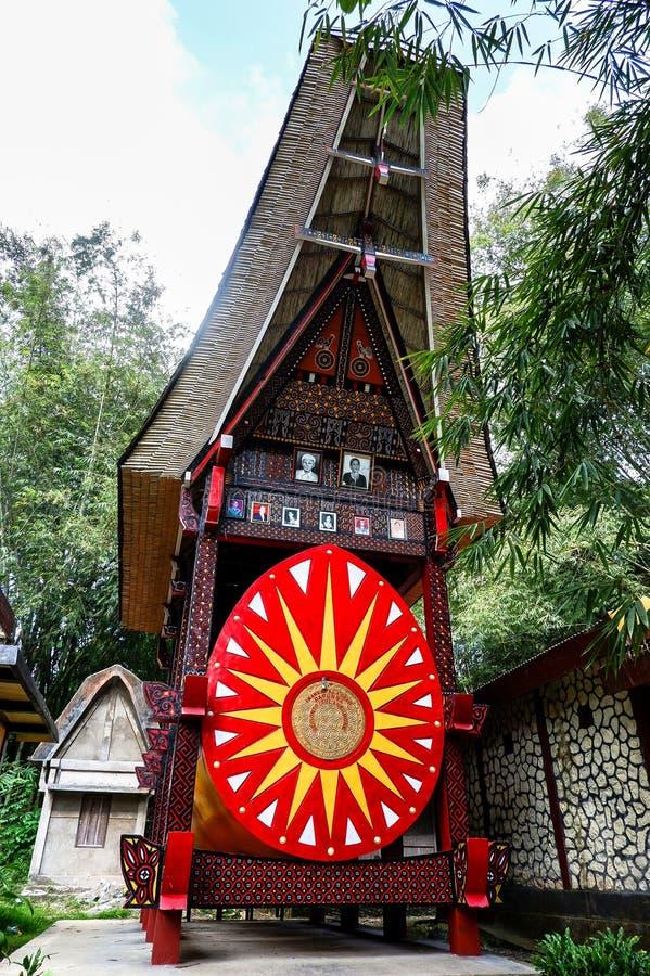 Tombe di Torajan in Sulawesi, Indonesia fotografia stock