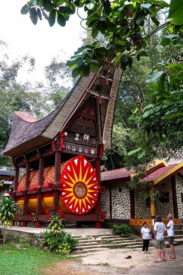 Tombe di Torajan in Sulawesi, Indonesia immagine stock