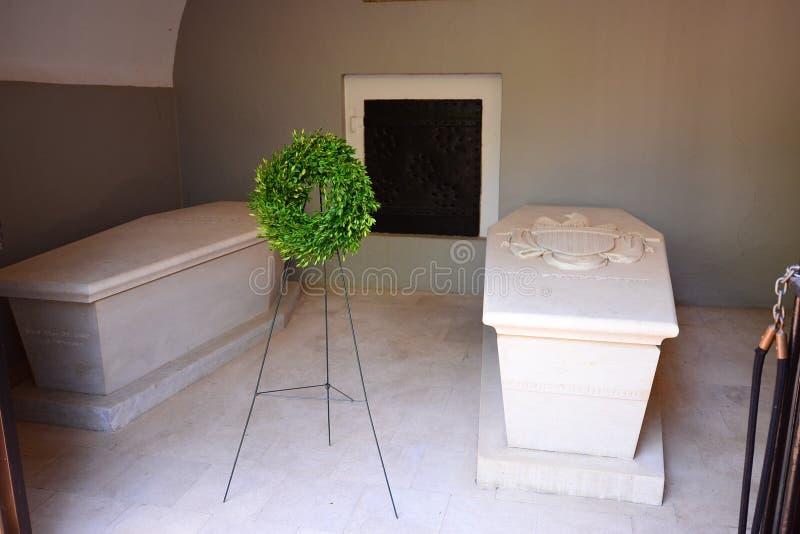 Tombe du ` s de George Washington photo stock