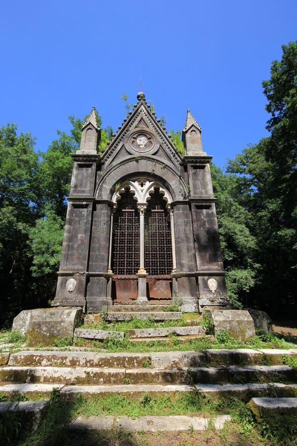 Tombe gothique photographie stock