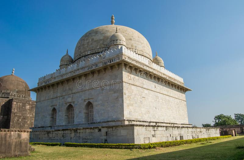 Tombe Mandav de Hoshang Shah photographie stock