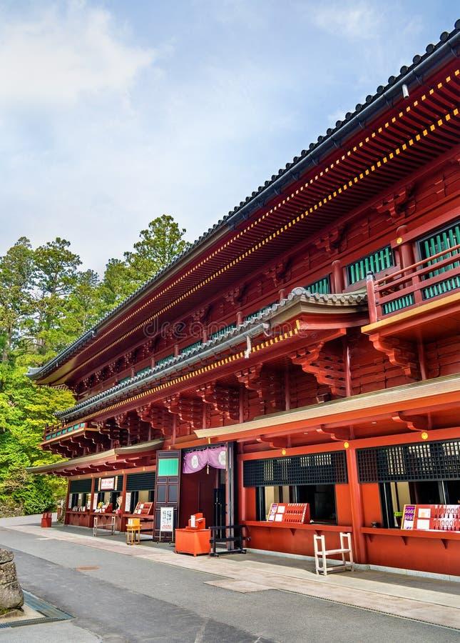 Tombeau au temple de Rinnoji à Nikko image libre de droits