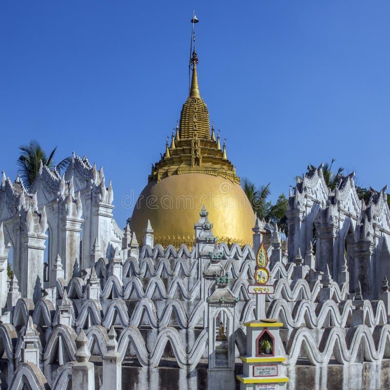 Tombeau de Bago - de Sunamuni - Myanmar photographie stock