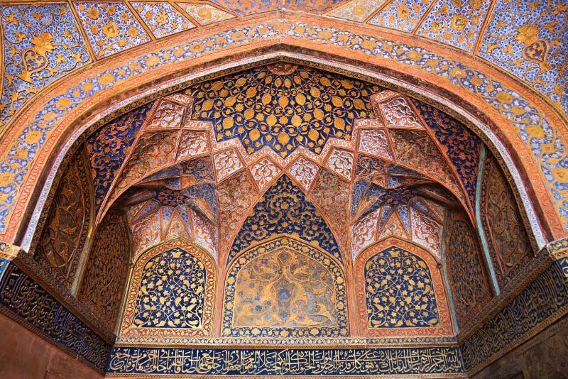 Tombeau d'Akbar le grand photographie stock libre de droits