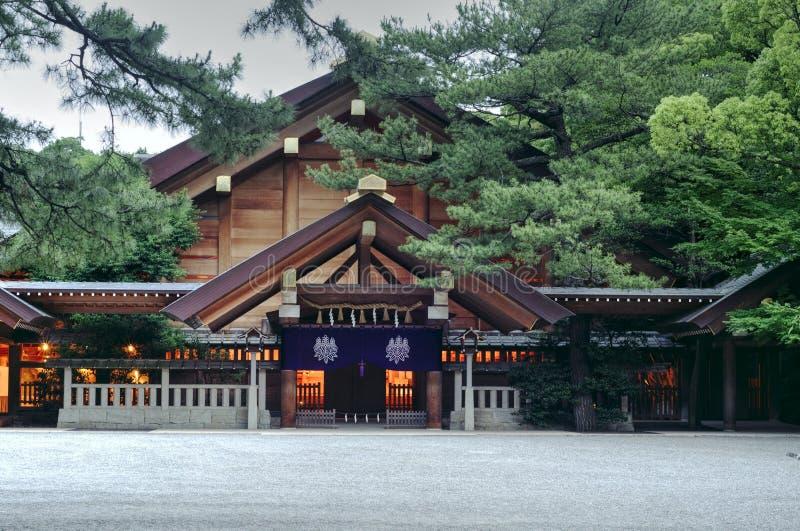 Tombeau d'Atsuta, Nagoya, Japon image stock