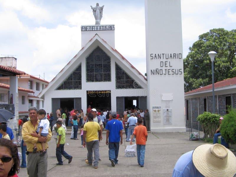 Tombeau d'enfant de Jésus, Isnotu, Venezuela photographie stock libre de droits