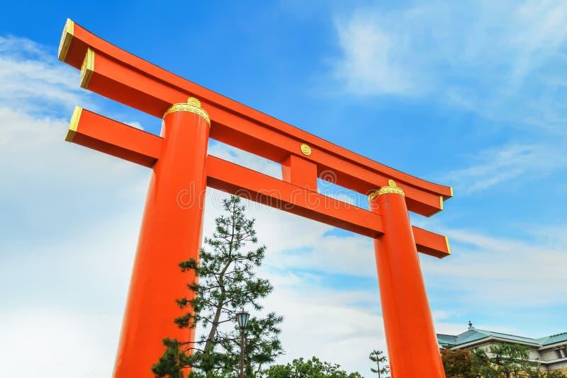 Tombeau de Heian Jingu à Kyoto, Japon photo libre de droits