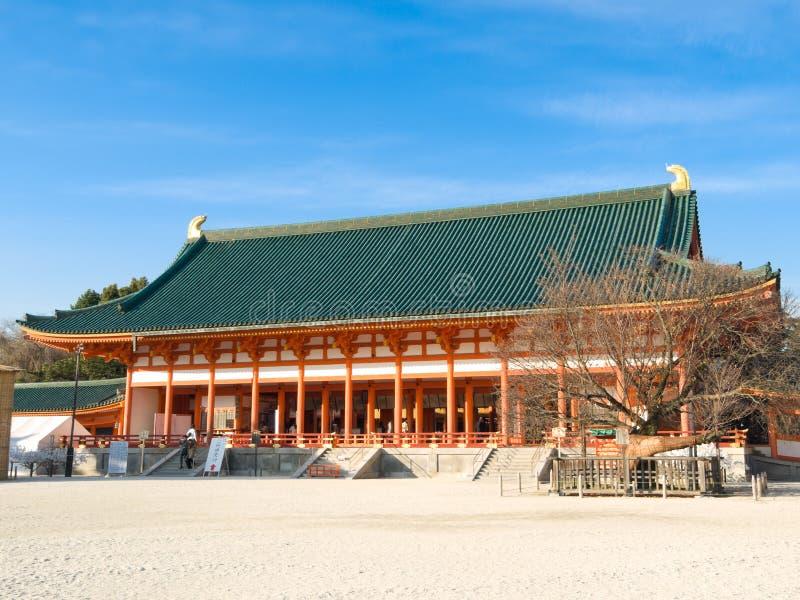 Tombeau de Heian Jingu photos stock
