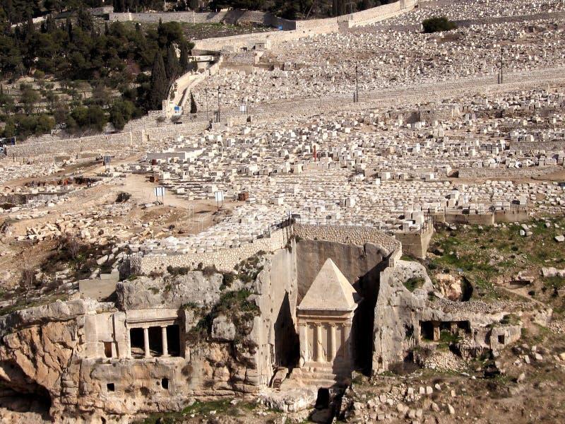 Tombeau de Jérusalem de Zechariah 2008 photographie stock libre de droits