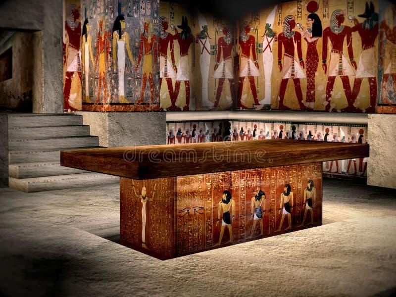 Tombeau de l'Egypte 4 photo libre de droits