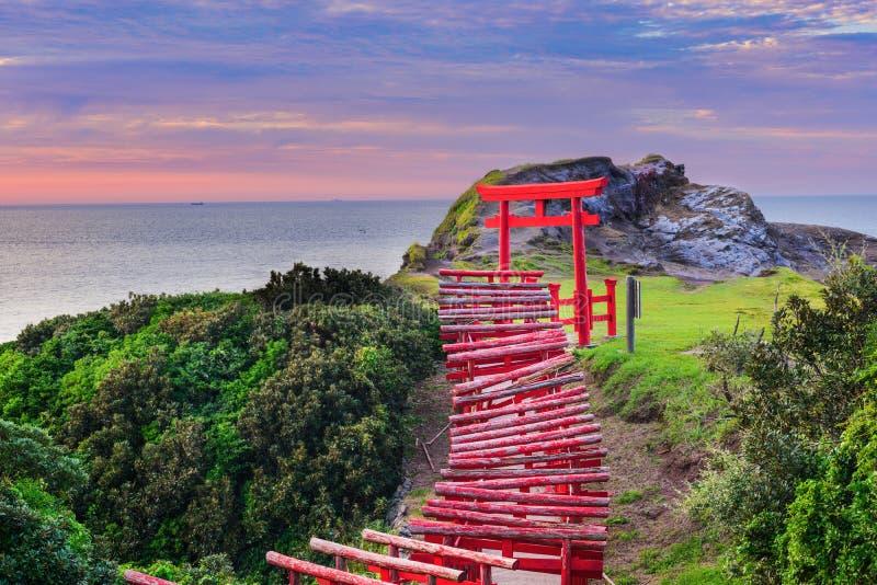Tombeau de Motonosumi au Japon images stock