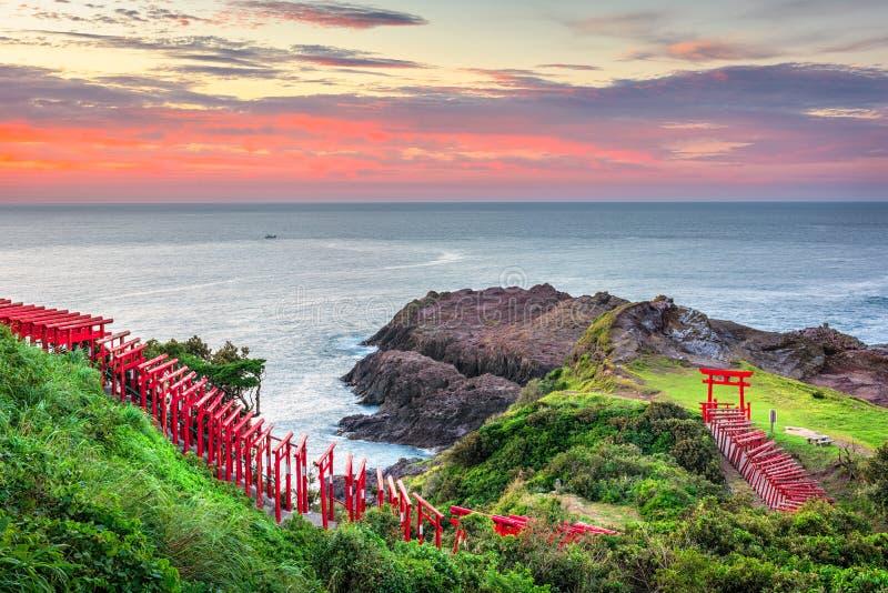 Tombeau de Motonosumi, Japon photographie stock