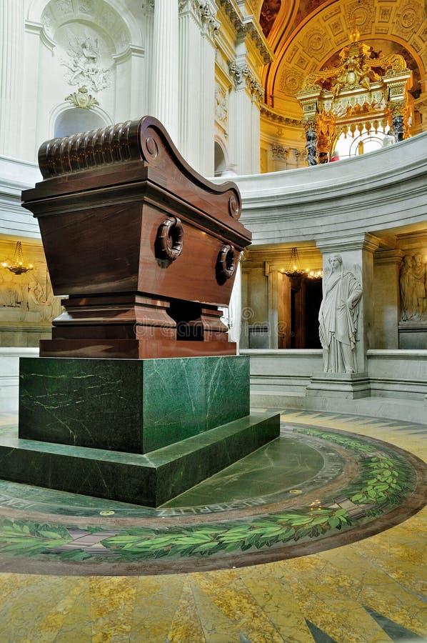 Tombeau de Napoleon, Paris photographie stock