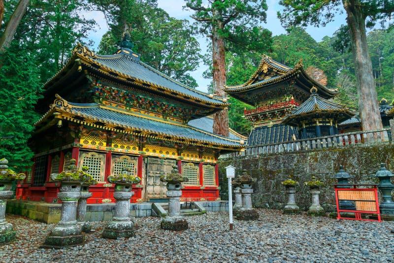 Tombeau de Nikko Toshogu à Nikko, Japon photographie stock