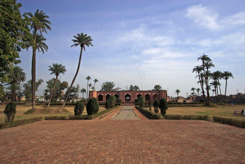 Tombeau de Noor Jehan, Lahore photo stock