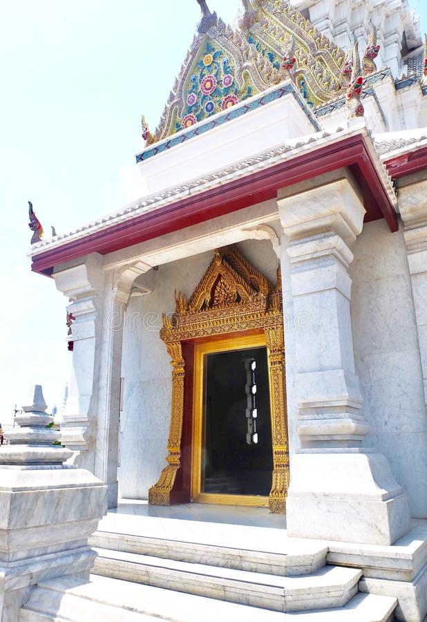 Tombeau de pilier de ville de Bangkok à Bangkok, Thaïlande photographie stock