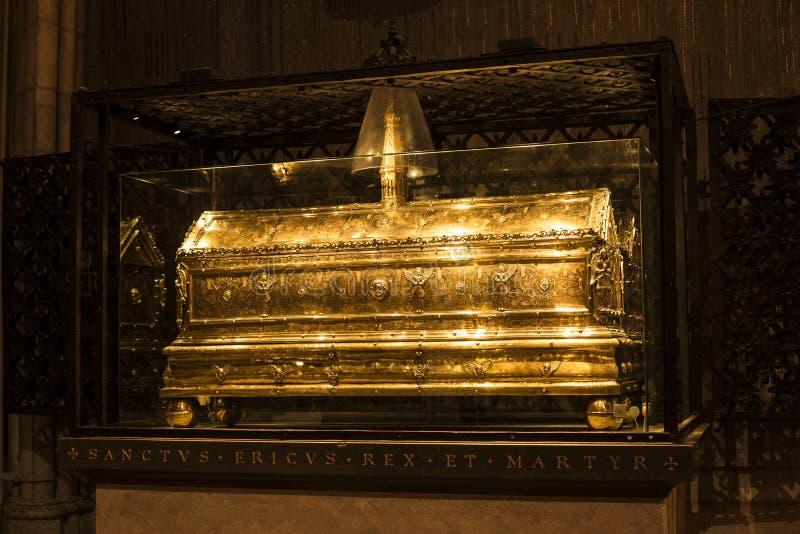 Tombeau de saint Erik images stock