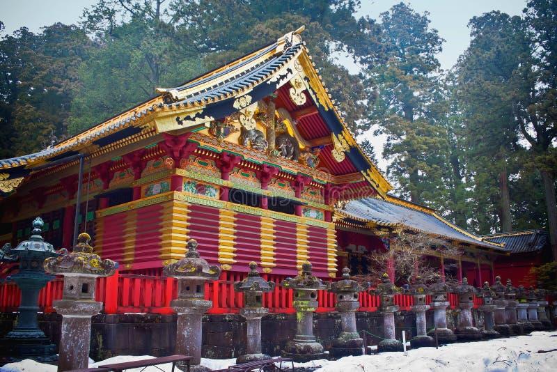 Tombeau de Toshogu à Nikko image libre de droits