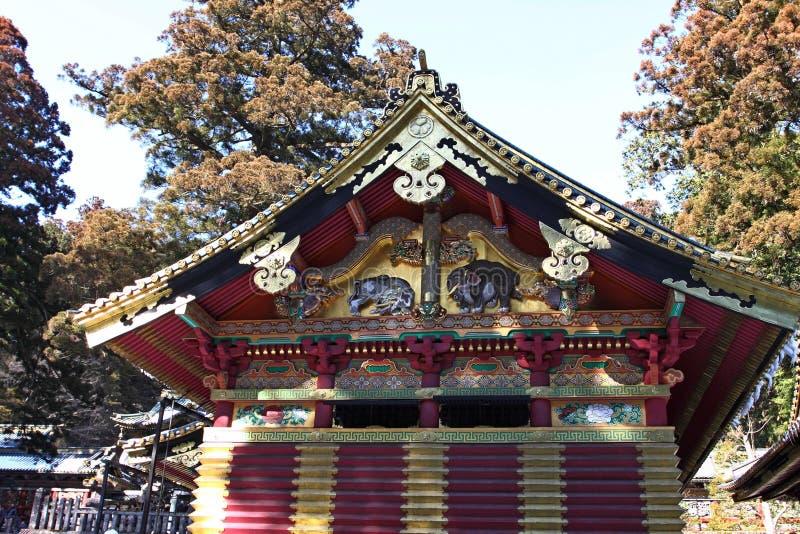 Tombeau de Toshogu à Nikko, Japon photos libres de droits