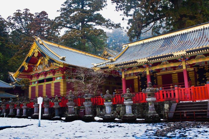 Tombeau de Toshogu photographie stock libre de droits