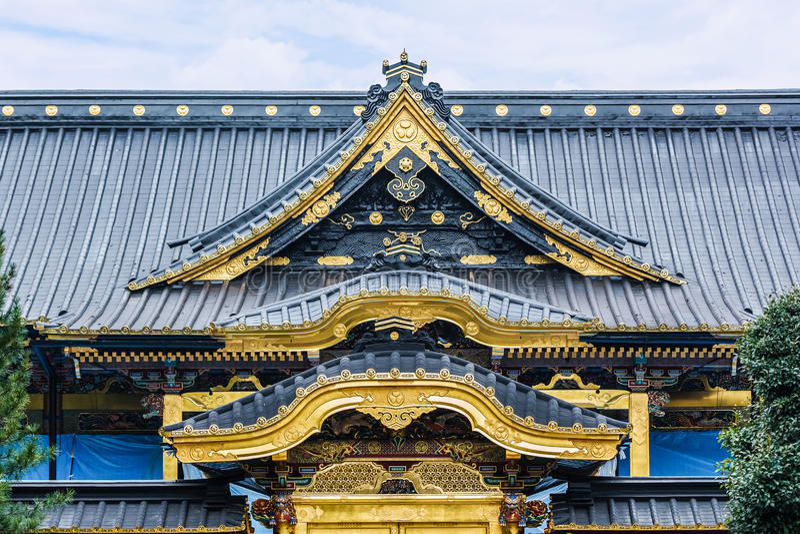 Tombeau de Toshogu au parc d'Ueno à Tokyo photos stock