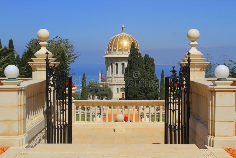 Tombeau du Bab à Haïfa photos libres de droits