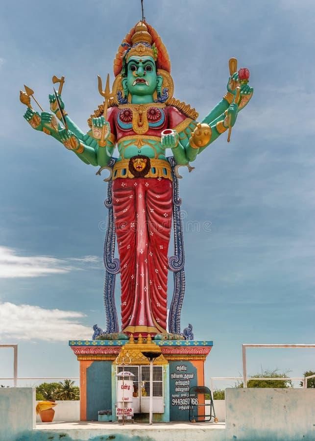 Tombeau et statue de déesse Kali. photos libres de droits