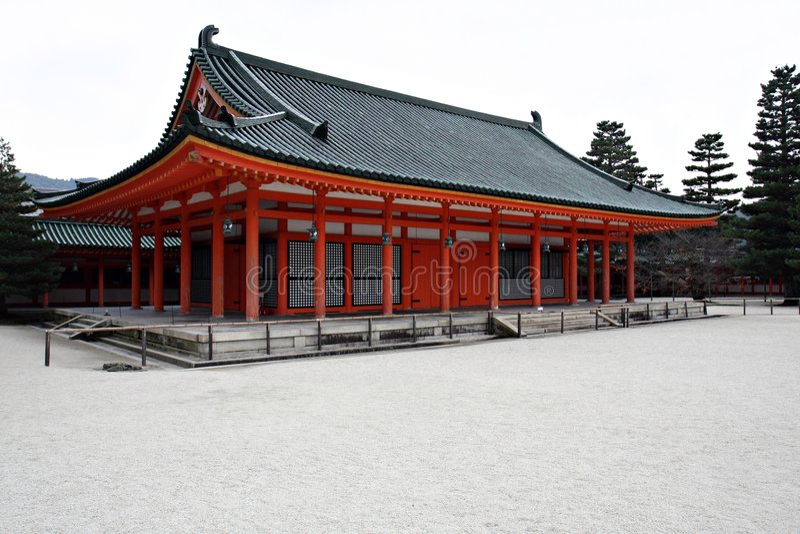 tombeau heian de Kyoto photographie stock