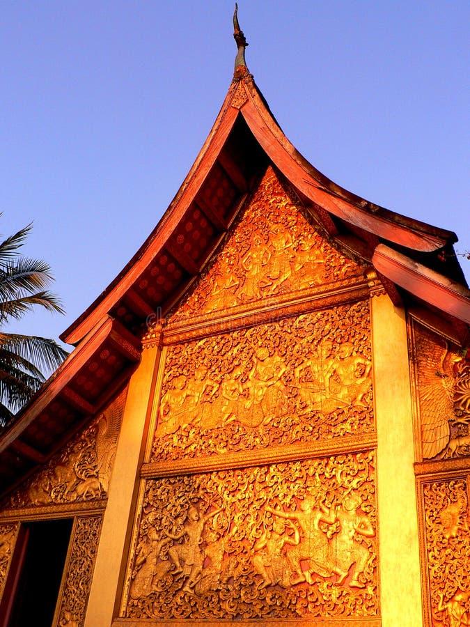 Tombeau royal au coucher du soleil photo stock