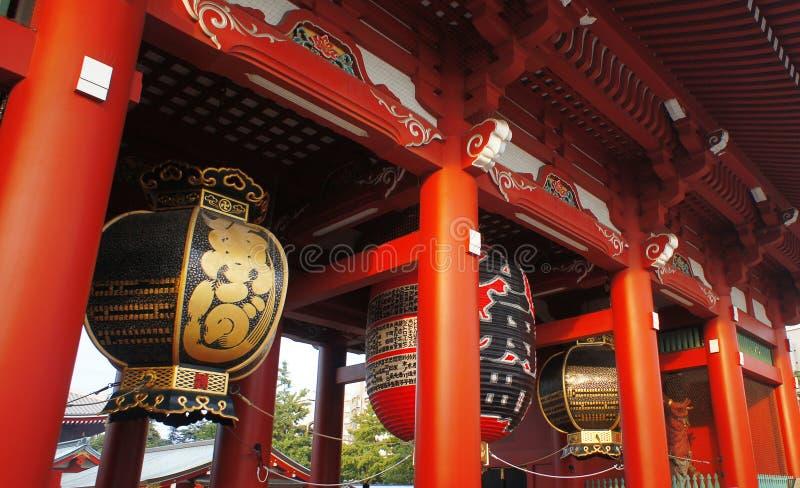 Tombeau Tokyo d'Asakusa de temple de Sensoji image libre de droits