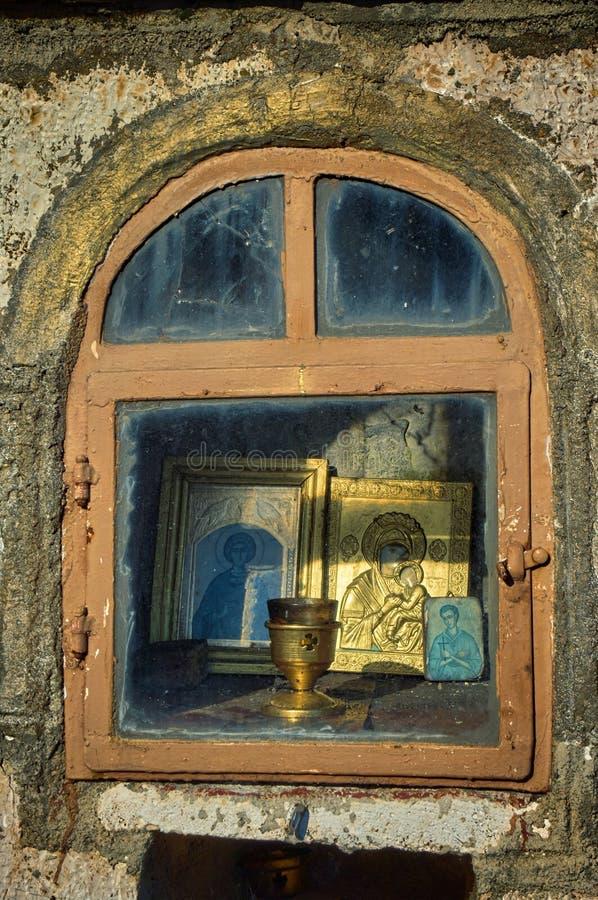 Tombeau votif d'or, Grèce photo libre de droits