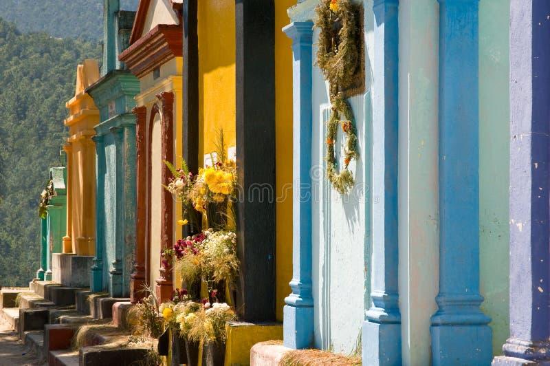 tombeaux de chichicastenango photos stock