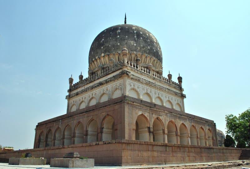 Tombeaux de Qutb Shahi, Hyderabad images libres de droits