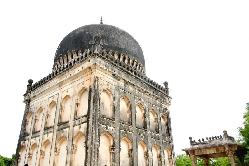 tombeaux de shahi de qutb de quli photos stock