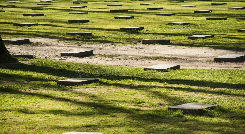Tombes de la guerre mondiale 1 dans Ypres photos stock