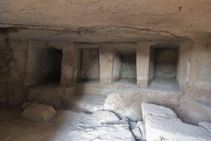 Download Tombes Des Rois Dans Paphos Sur La Chypre Image stock - Image du historique, archéologie: 76088753