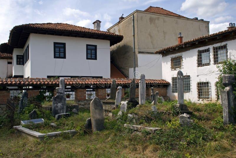Tombes musulmanes, Gjakova, Kosovo photos stock