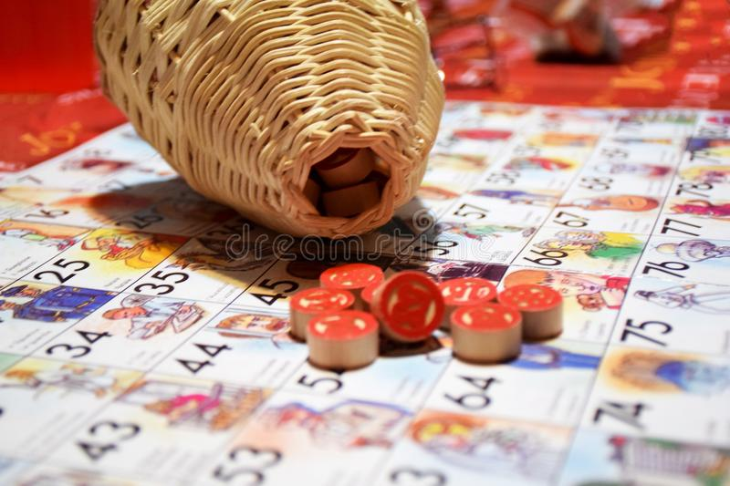 Tombola stock photography